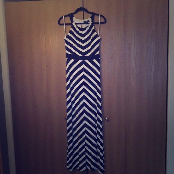 White House Black Market Dresses & Skirts - Striped maxi dress from White House Black Market